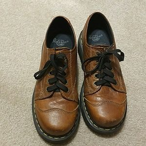 Women's Dr. Martens Airwair Platform Oxfords